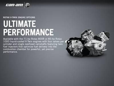 2017 Can-Am® Commander™ XT™ 1000 Brushed Aluminum | Mountain